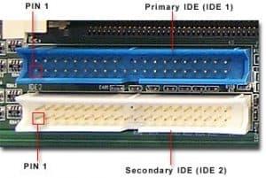 Izgled IDE ATA konektora