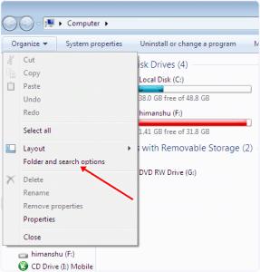 AIKU računari - Kako sakriti datoteke i fascikle u Windows 7, 8, 10 1