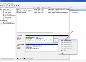 AIKU računari - Kako napraviti particije na hard disku? 2