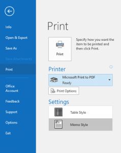 AIKU računari Internet Savjeti - Kako sačuvati e-mail kao PDF u OS Windows 10?