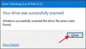 AIKU računari - Kako skenirati hard disk koristeći 'Error Checking'? 2