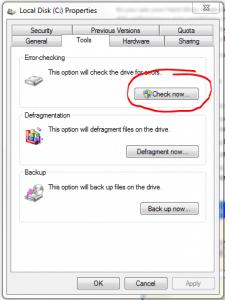 AIKU računari - Kako skenirati hard disk koristeći 'Error Checking'? 3