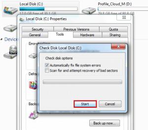 AIKU računari - Kako skenirati hard disk koristeći 'Error Checking'? 4
