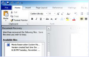 AIKU računari Savjeti - Kako obnoviti nesačuvan MS Word dokument? 1