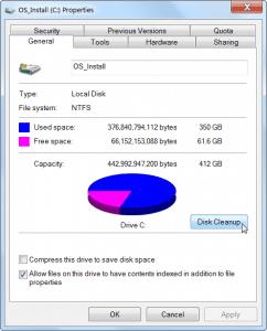 AIKU računari - Oslobodite prostor na hard disku 2