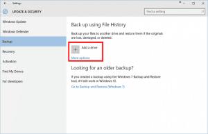 AIKU računari - Kako koristiti File History u Windows 10 3