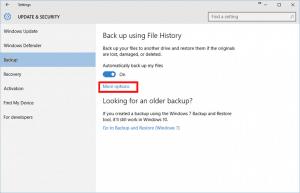 AIKU računari - Kako koristiti File History u Windows 10 4