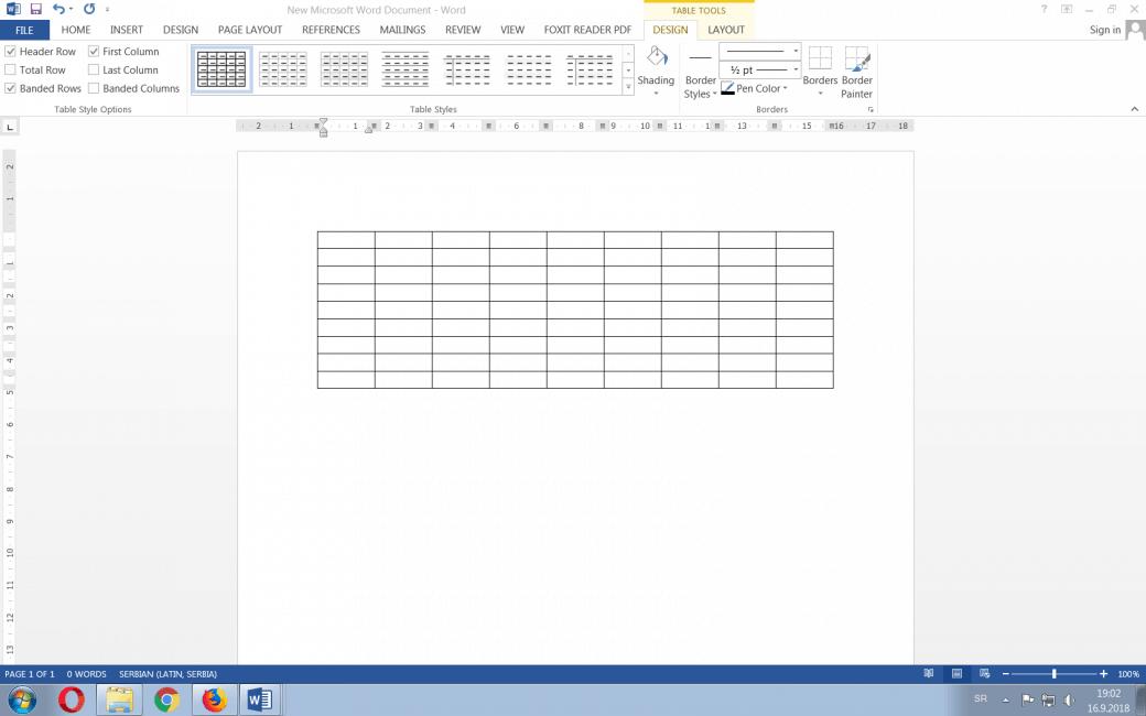 Savjeti - MS Word - rad sa tabelama