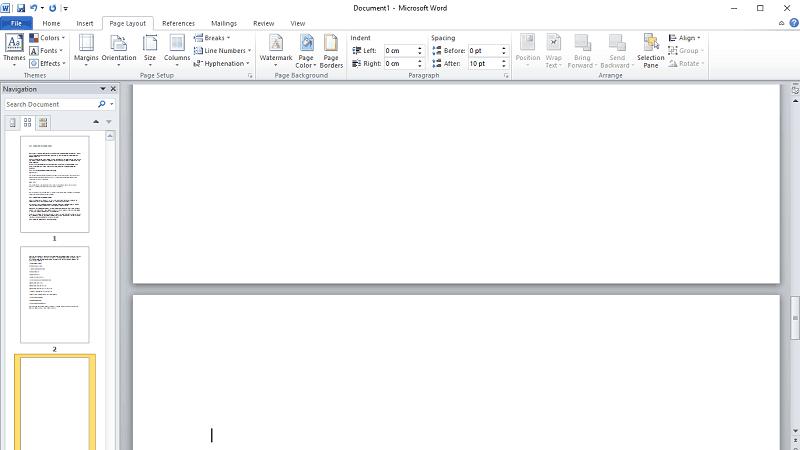 AIKU računari - Kako obrisati praznu stranicu u MS Word-u? 3