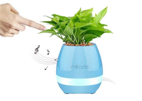 - Pametna muzička saksija za cvijeće Mikado MD-P15BT